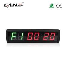 [Ganxin] 2.3'' Electronic gym digital timer wall clock LED Tabata crossfit clock morden gym equipment стоимость