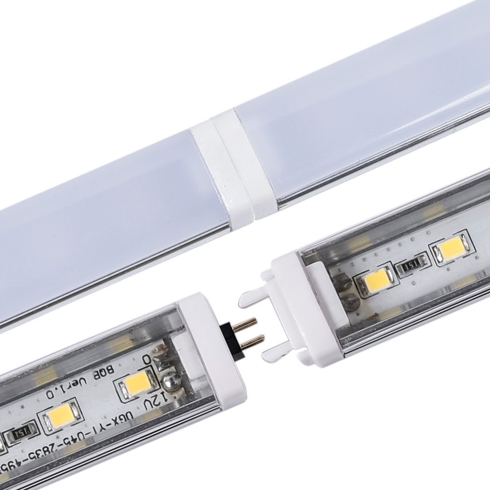 Online shop 2pcs led bar light fast connecting rigid led strip online shop 2pcs led bar light fast connecting rigid led strip dc12v 2835 50cm45leds led kitchen light under cabinet closet sink pc cover aliexpress aloadofball Image collections