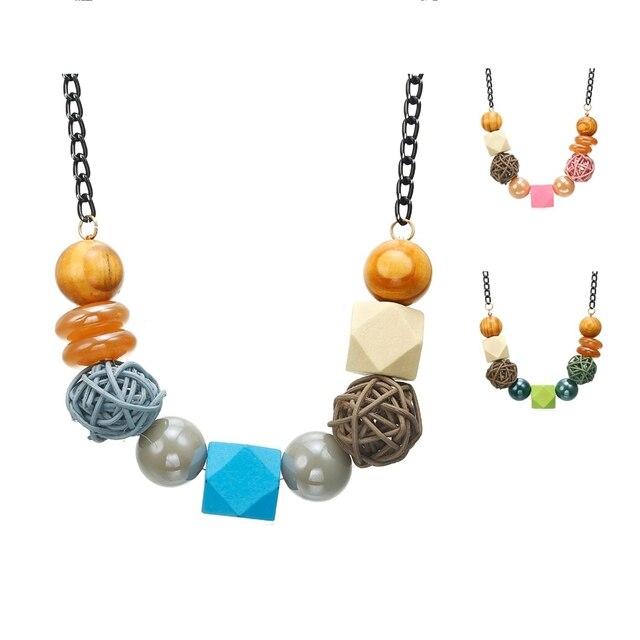 Ожерелье и подвески для женщин массивное винтажное ожерелье