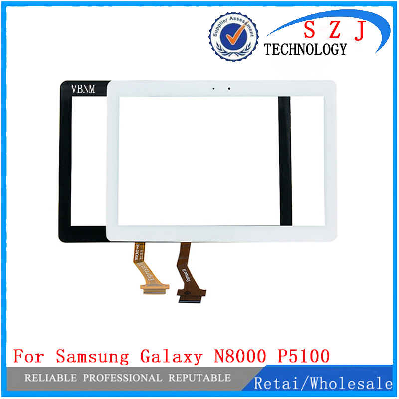 New 10.1'' Inch Replacement For Samsung Galaxy Note N8000 N8010 P5100 Touch Screen Digitizer Assembly For Samsung Front Glass