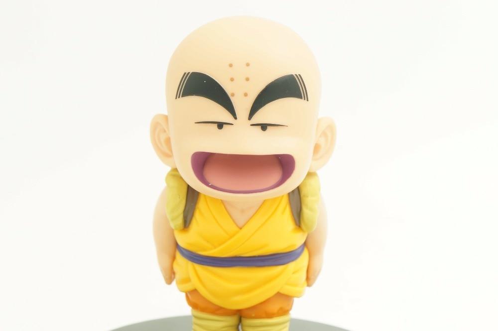 Us 1042 17 Offjg Chen Dragon Ball Son Goku Kuririn Cute Action Figure Anime Model Boy Gift Kids Toys Brinquedos في شخصيات دمى وحركة من الألعاب