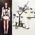women 2 piece set ,elegant crop top and shorts set,wool jacket+shorts women set,custom plus size,xs-5xl winter conjunto feminino
