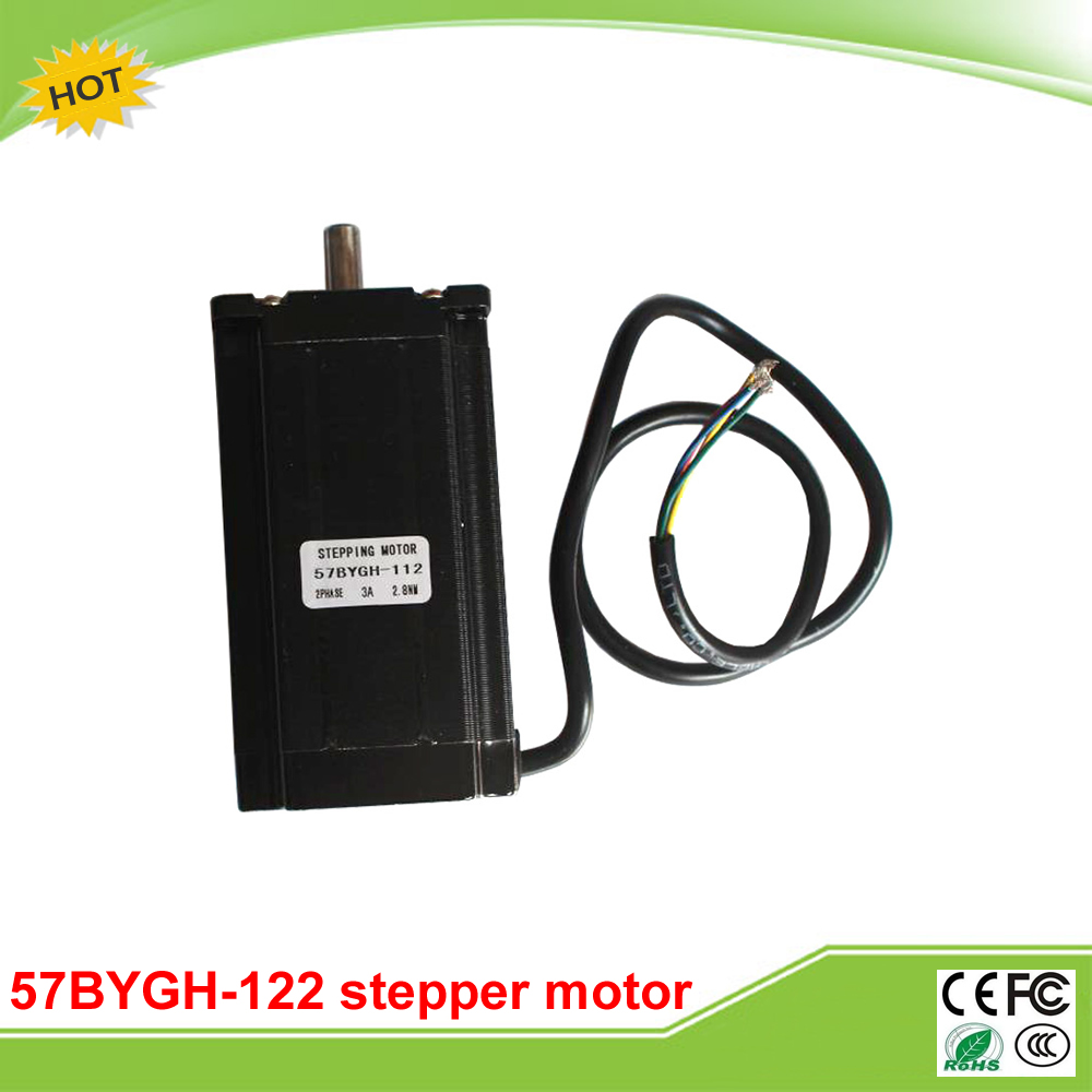 57BYGH-112 57 stepper motor stepper motor drive shaft extension 112mm moment 2.8N.4 line 8 rc2604h stepper motor drive 578 586
