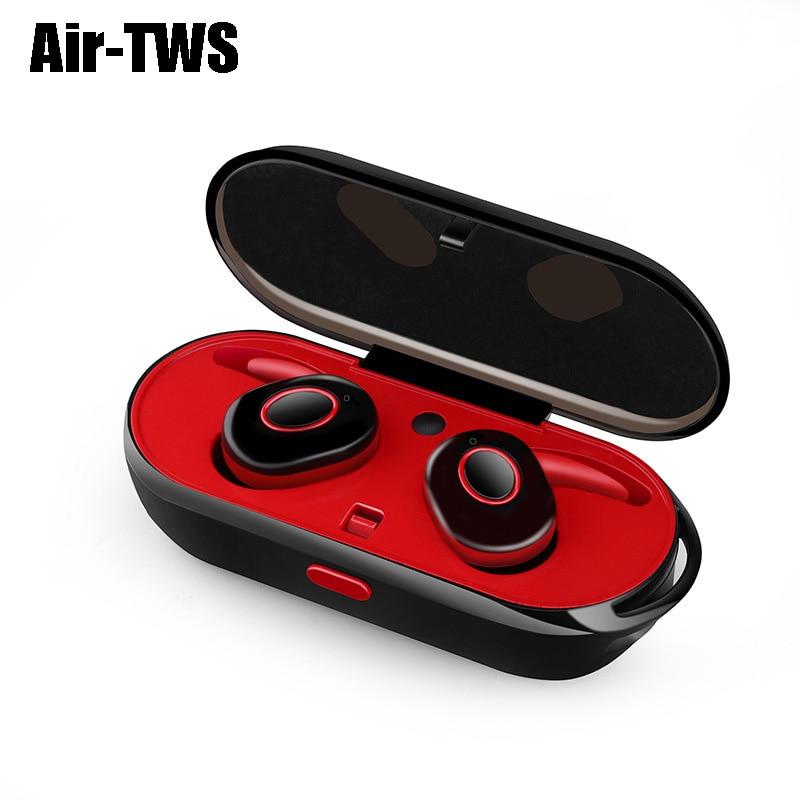Air-TWS Audifonos Bluetooth Headset TWS Headphone Bluetooth Wireless Headphones Bluetooth Noise Canceling Headphone For Phone/PC