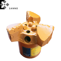 133mm / 153mm / 171mm 3 wings concave drills PDC core drilling bit geological prospecting bits for 50 / 42 pipe