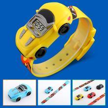 2019 Children Kids Boy Watches Car Toy Digital LED Quartz Sp