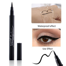 1 Pcs Waterproof Black Liquid Eyeliner Pencil Big Eyes Makeu