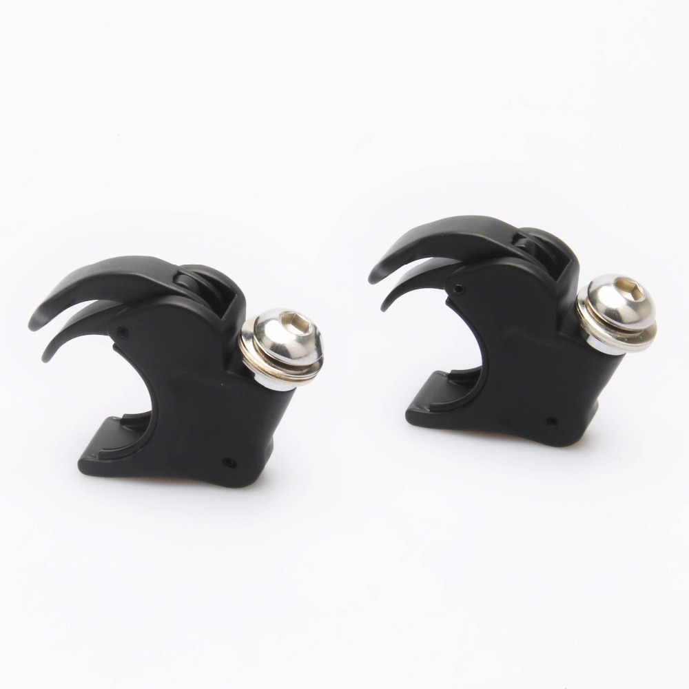 Motorcycle 39mm  Black Or Chrome Windshield Windscreen 39mm Clamps Mounts For Harley Dyna Sportster
