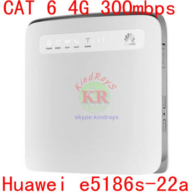 Unlocked Cat6 300mbps Huawei E5186 E5186s-22a 4g 3g Router 4g Wifi Dongle Mobile Hotspot 4g Cpe Huawei E5186 4g Lte Router