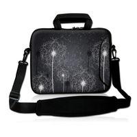 Gray Dandelion Laptop Sleeve Shoulder Bag Notebook Case For Macbook Air 11 13 Pro 13 15