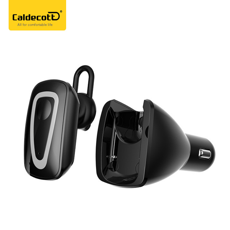 4.1 Wireless Bluetooth Headset USB Car Charger Dapter  Phone Charger with Wireless Bluetooth Earphone with Mic for Smartphone remax 2 in1 mini bluetooth 4 0 headphones usb car charger dock wireless car headset bluetooth earphone for iphone 7 6s android