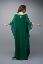 2015 Caftan Long Dubai Muslim Kaftan Abayas Arabic Turkish For sale Evening Robe Abayas for Woman Islamic Clothing