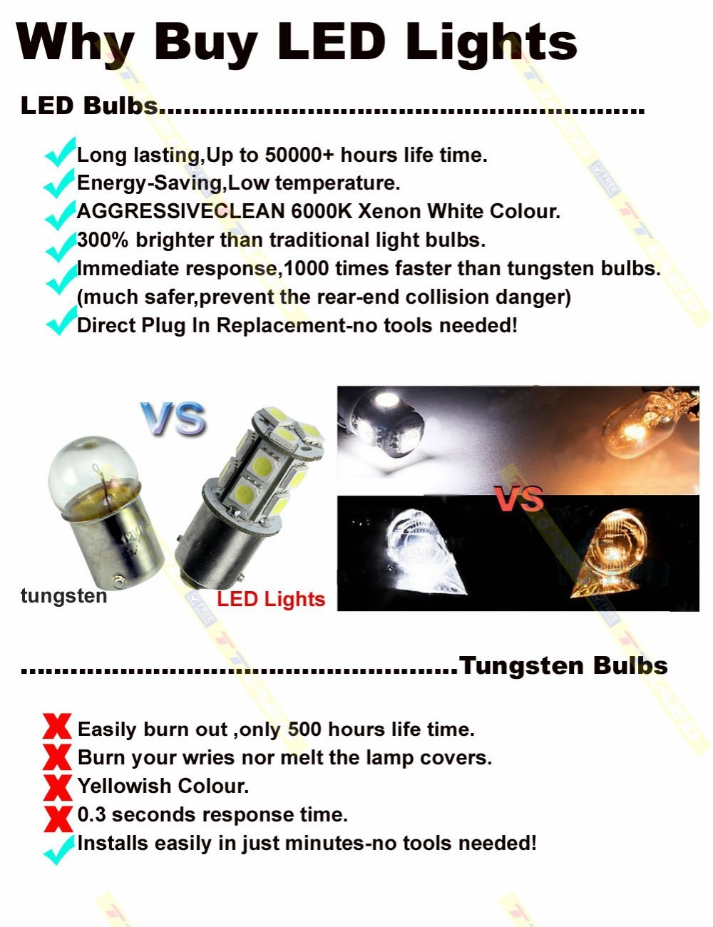 Tricolour 10pcs Festoon 578 24smd 1210 3528 Led Dome Light Bulb For Power To The And Comes On Toyota Tacoma 22 05 06 07 08 09 10 11 12 13 14 15 Tk118 In Signal Lamp From