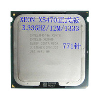 INTEL XEON 771 X5470 CPU 3.33GHz /12MB/1333Mhz Quad Core Server Processor  works on LGA 775 mainboard have a 5440 5450 5460 sale