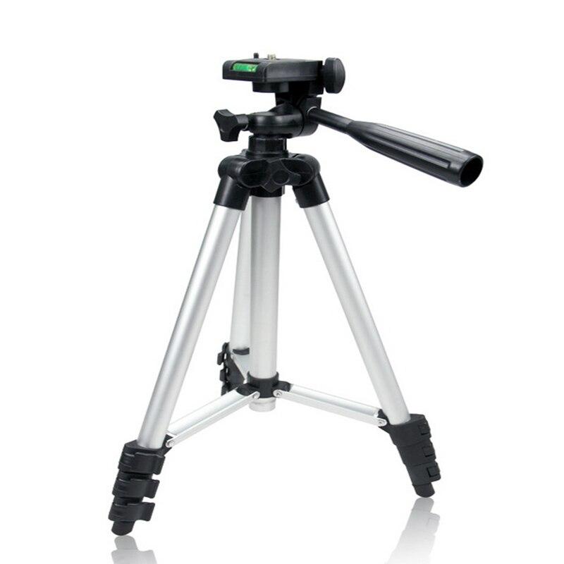Professionnel Portable 4 Sections Flexible SLR Permanent/stand Léger Caméra Trépied Pour Gopro Fuji Canon Sony Nikon