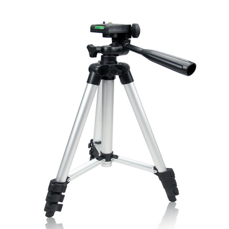 SLR profissional Portátil 4 Seções Flexível Standing/stand Leve Tripé de Câmera Gopro Para Fuji Canon Nikon Sony