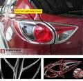 Для Mazda CX-5 CX5 2012 2013 2014 2015 2016 ABS хромированный задний фонарь накладка