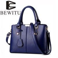 Bewitu европейский и американский Стиль Новый PU Материал большой Ёмкость женская сумка мешок работа сумки