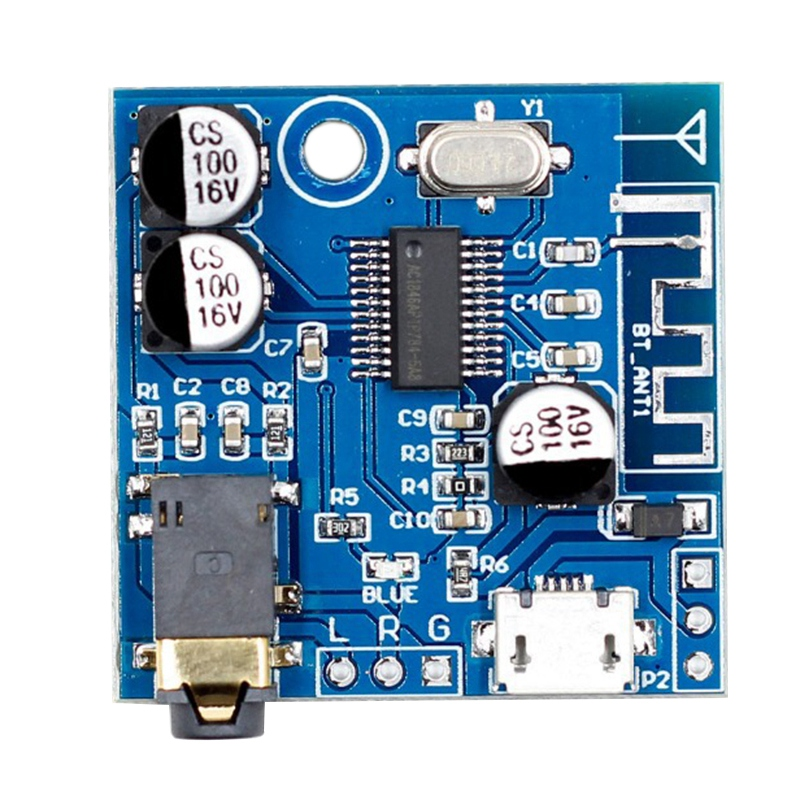 5V Mp3 Bluetooth Decoder Board Lossless Car Speaker Audio Amplifier Board Modified Bluetooth Circuit Stereo Receiver