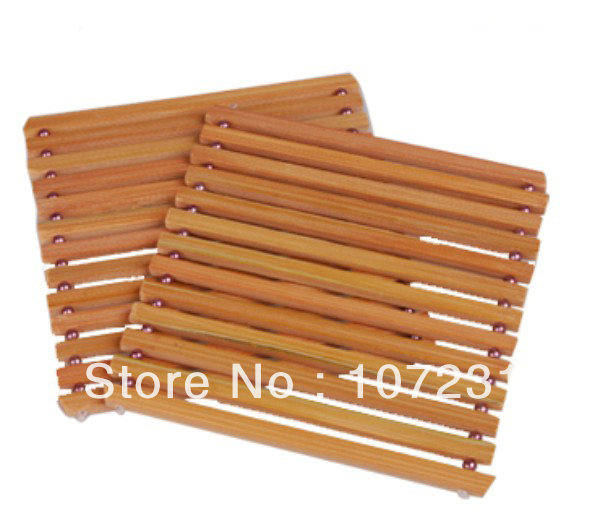 4pcs bamboo wooden hot pad Cup dish plate Holder trivet Heat pad Kitchen Accessories 14cm *  sc 1 st  AliExpress.com & 4pcs bamboo wooden hot pad Cup dish plate Holder trivet Heat pad ...
