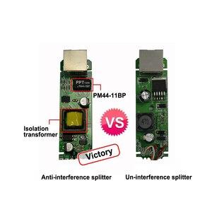 Image 3 - ESCAM 2.5KV Anti interference Power Over Ethernet 48V To 5V 2.4A 12W Active POE Splitter Micro USB Plug for Raspberry Pi CCTV