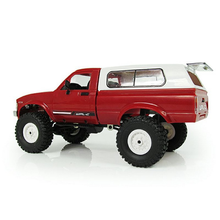 WPL RC voiture C-24 Jeep 4WD RC voiture télécommande jouet 1:16 modèle voiture 2.4G tout-terrain RC haute vitesse camion RTR voiture pour enfant cadeau - 6