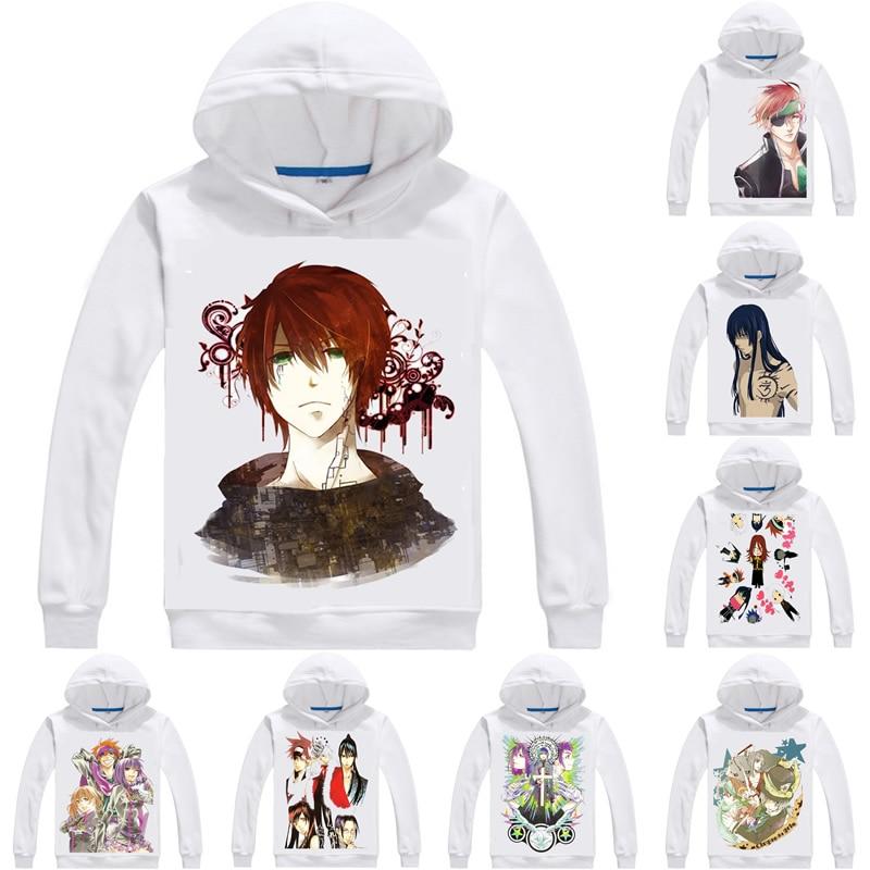 D.gray-man Hoodies Men Anime Hoodie Katsura Hoshino Di Gureiman Lavi Bookman Jr Yu Kanda Allen Walker Anime Cosplay Sweatshirts Good Heat Preservation Hoodies & Sweatshirts