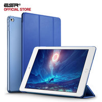 ESR Ultra Slim Light Weight With Translucent PC Back Folio Smart Cover Case For Apple IPad