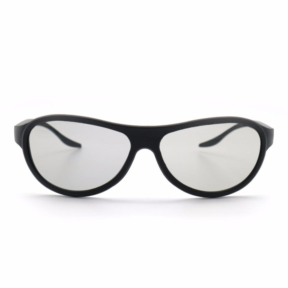 4pcs/lot Replacement AG-F310 3D Glasses Polarized Passive Glasses For LG TCL Samsung SONY Konka reald 3D Cinema TV computer Pakistan