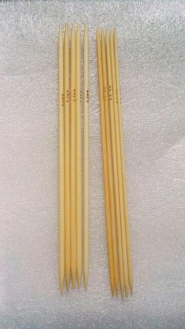 Nova-3mm 4 мм шт. 10 шт. см 20 см бамбуковый носок спицы, двойная точка гладкой ткани Ремесло Вязание иглы