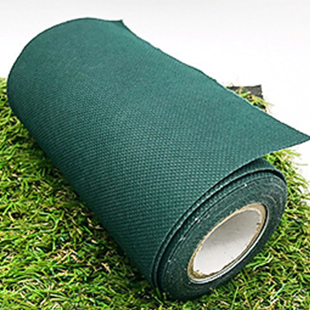 Anti Slip Grass Tape Decorative Lawn Artificial Turf Seaming Waterproof Joining Fixing Repair Roll Self Adhesive DIY in Artificial Lawn from Home Garden