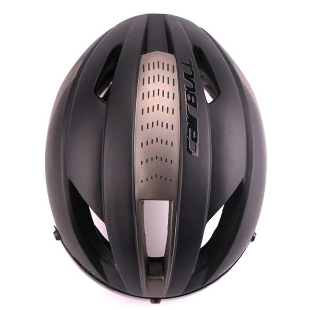 Cairbull 280g aero ultra-luz goggle tt estrada bicicleta capacete in-mold corrida ciclismo esportes segurança tempo-julgamento ciclismo capacete 4