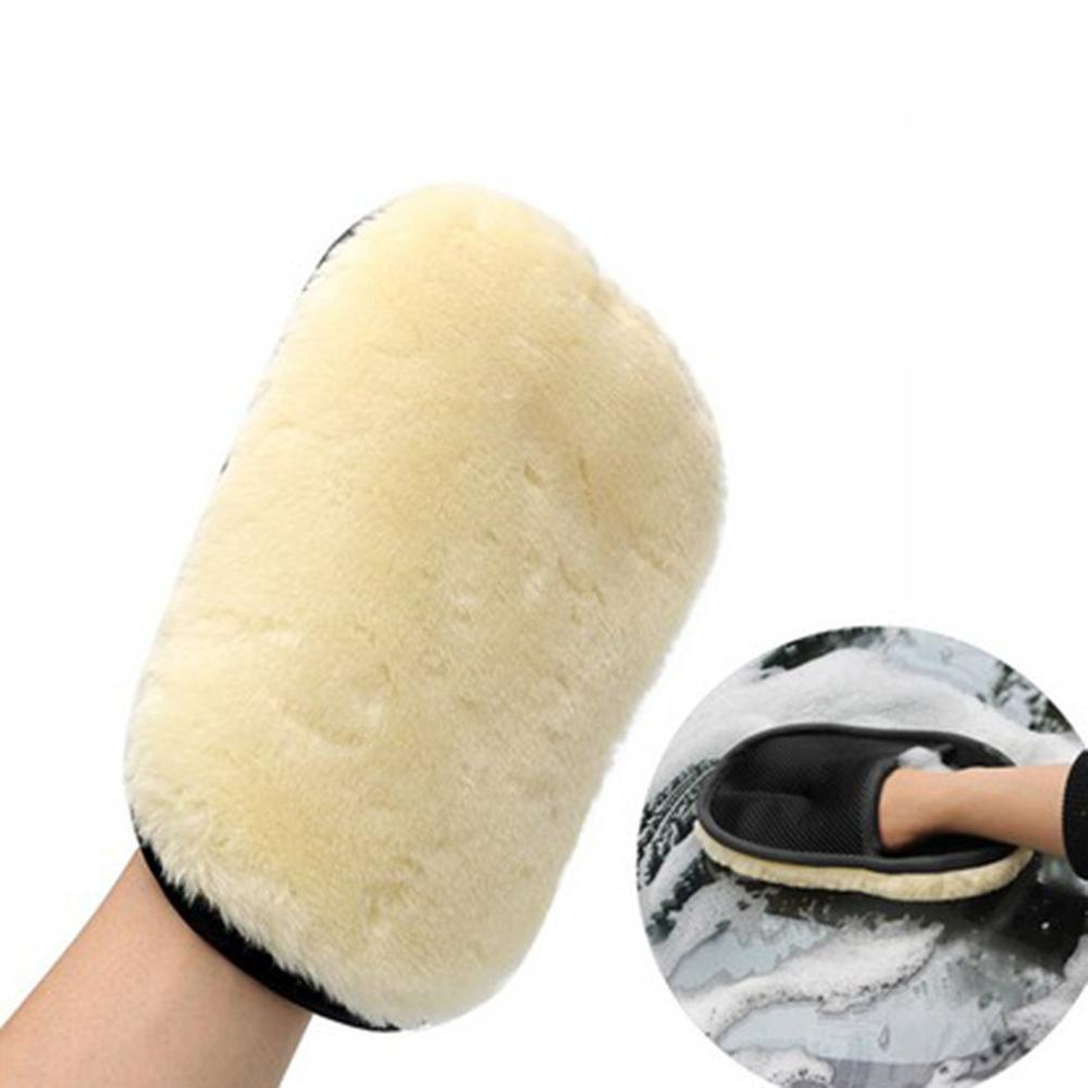 Car-Styling Soft Wool Car Wash Washing Gloves Auto Care Car Cleaning Microfiber 230*150Mm Auto Detailing Tools