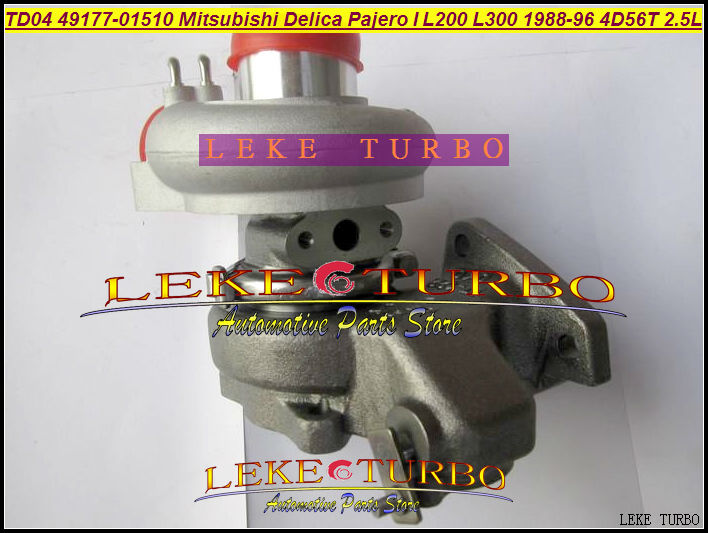 Free Ship TD04 49177-01500 49177 01500 MD168053 Oil Cool Turbo For Mitsubishi SHOGUN Delica Pajero L200 L300 4D56 DE 4D56T 2.5L