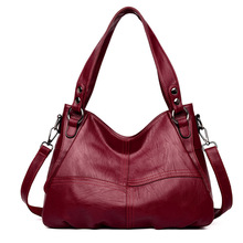 Women Handbag Large Capacity Leather Messenger Bags Designer High Quality Big Tote Crossbody Bags For Women Luxury Shoulder Bag
