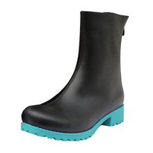 Brdwn Vocaloid Girls Hatsune Miku Cosplay Shoes Short Boots цены онлайн