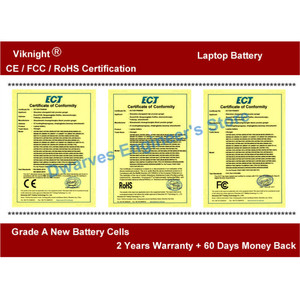 Image 5 - Genuine W370BAT 8 laptop Battery For Clevo P177SM A W350ET W350ETQ W350ST W370 W370BAT 8 Battery 6 87 W370S 4271 5200mAh 76.96Wh