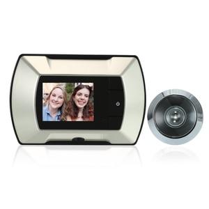 "Image 2 - 2.4 ""TFT LCD Monitor ประตู Peephole Wireless Viewer กล้อง Digital Peephole Doorbell Monitor"