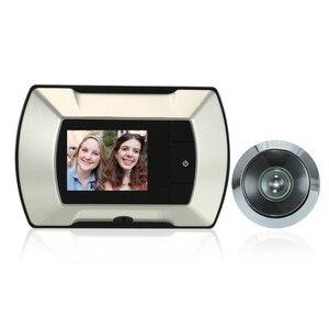 Image 2 - Беспроводной дверной глазок с ЖК экраном 2,4 дюйма TFT, цифровой электрический дверной глазок