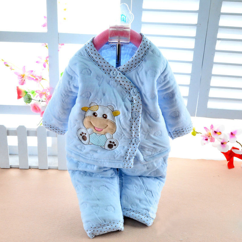 brands newborn baby clothes 3 6 months autumn winter baby girl clothing long sleeve infant boy clothing set suit coat outfit in underwear from mother