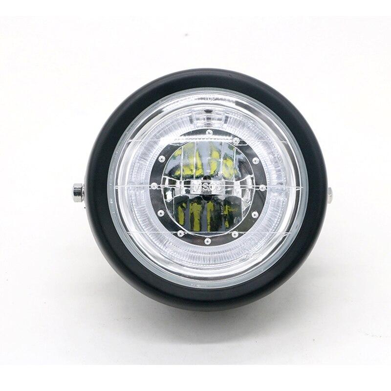 Image 3 - Мотоцикл модифицированный светодиодный налобный фонарь Простая установка вспомогательный противотуманный прожектор универсальный мотоцикл супер яркая фара     АлиЭкспресс
