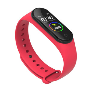Image 4 - New m4 pro smart band HD 0.96 inch color screen heart rate blood pressure fitness tracker waterproof watches pk mi band 4 ID115