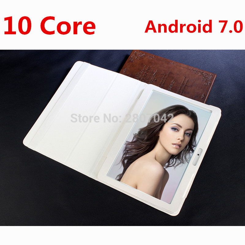 10 inch tablet PC 10 core Android 7.0 RAM Phone Call 4GB ROM 64GB 1920x1200 IPS Bluetooth tablets pcs smartphone computer MT6797