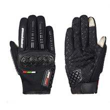 Brand Carbon Fiber Touch Screen Breathable Motorcycle Gloves Motocross Cycling Bike Racing Protective Gloves guantes luvas moto