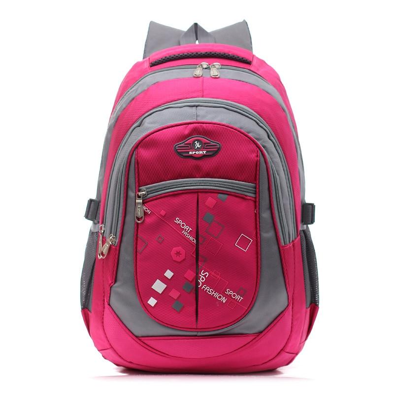 Children Backpacks for Boys Girls Primary school backpack Lighten Burden On Shoulder  Breathable printing travel bag Wholesale-in Backpacks from Luggage ... 8acc5c7771
