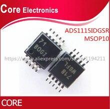 10 шт./лот ADS1115IDGSR ADS1115 10msop 16BIT BOGI 860SPS LP лучшего качества