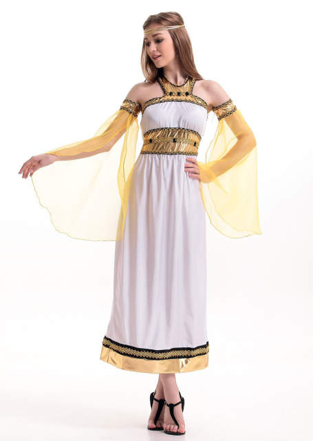 5100e88f89c MOONIGHT Women Adult Greek Roman Empress Toga Fancy Dress Party Costume  Sexy Costumes