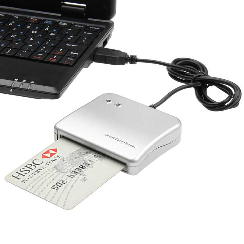 Einfach Comm USB Smart Card Reader IC/ID kartenleser Hohe Qualität Dropshipping PC/SC Smart Kartenleser für Windows Linux OS
