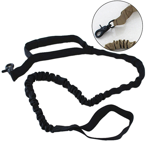 Tactical Bungee Dog Leash with Traffic Handle Heavy Duty Outdoor Sport Training ...