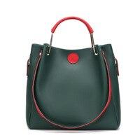 بسيطة يد المرأة عادي رنيش وجه الملون التسوق الكتف حقيبة الإناث حقيبة كبيرة داخل أكياس صغيرة crossbody للنساء